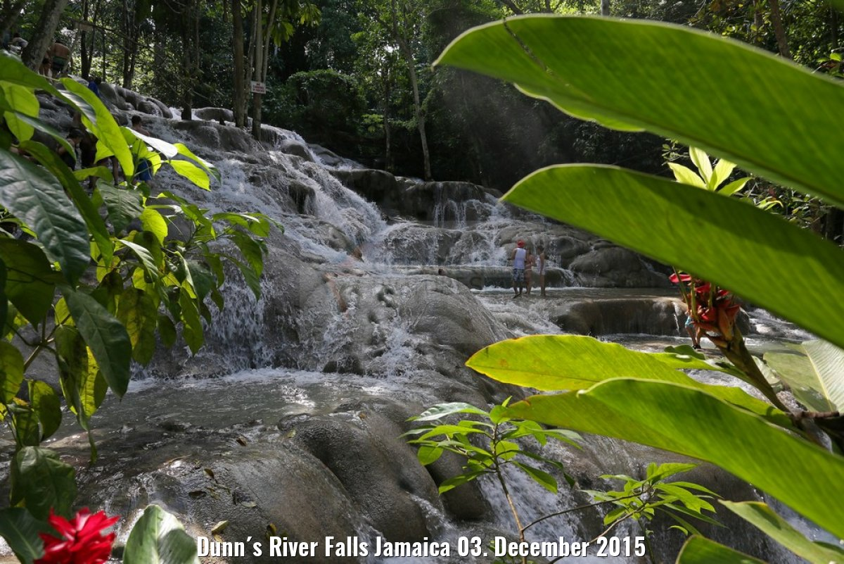Dunn´s River Falls Jamaica 03. December 2015