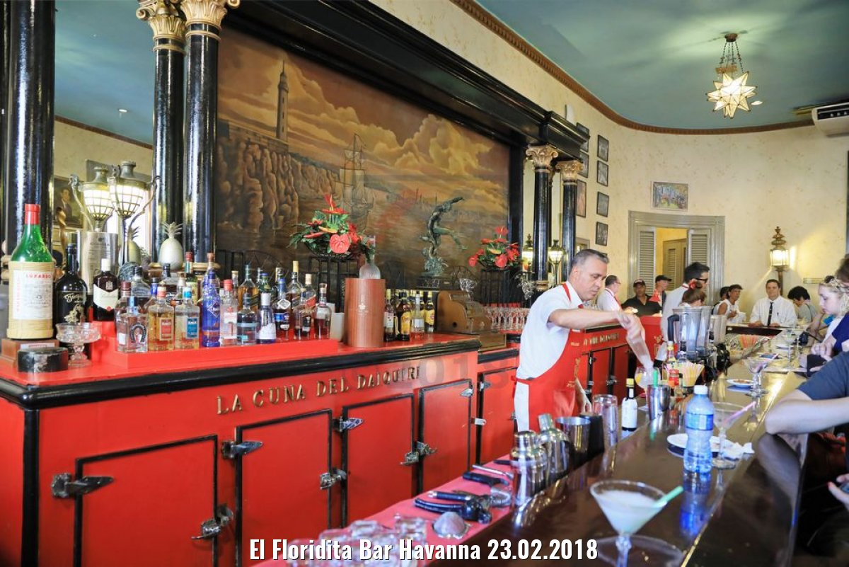 El Floridita Bar Havanna 23.02.2018