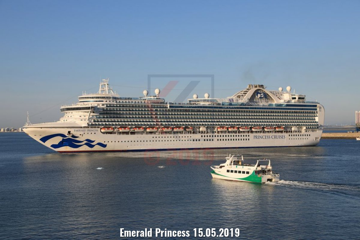 Emerald Princess 15.05.2019