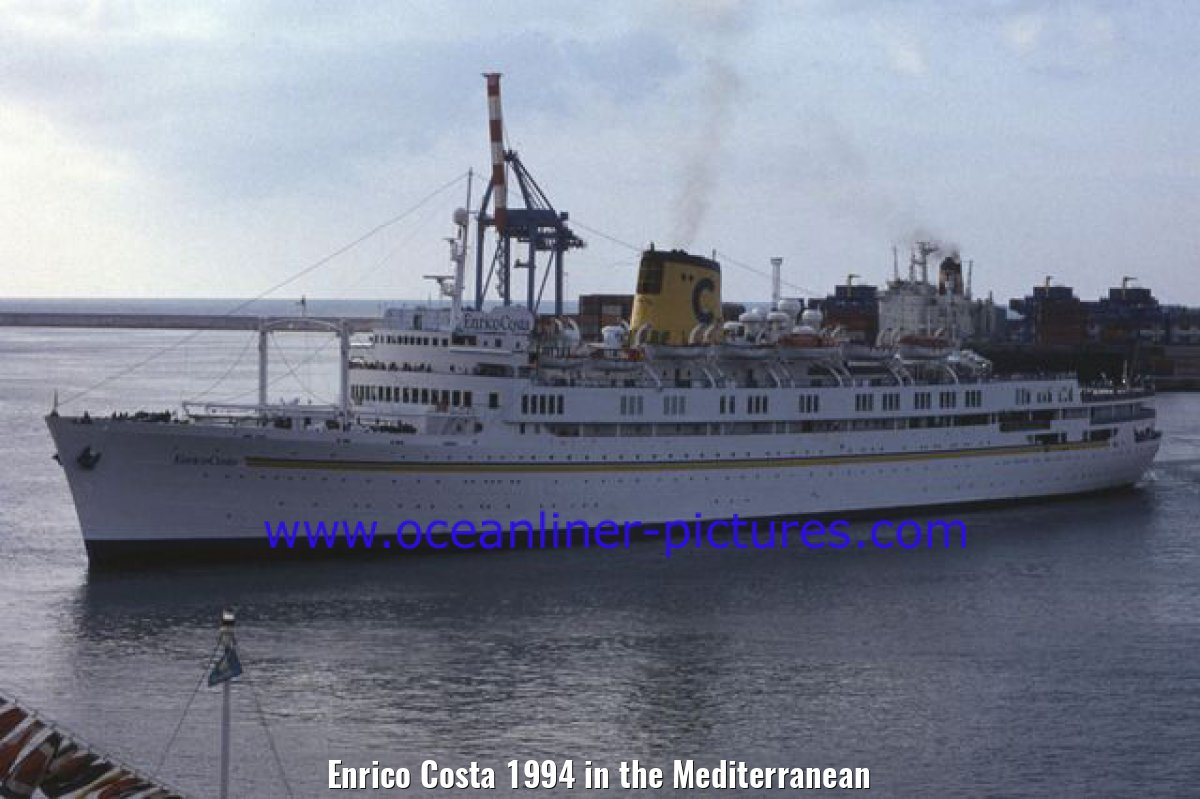 Enrico Costa 1994 in the Mediterranean