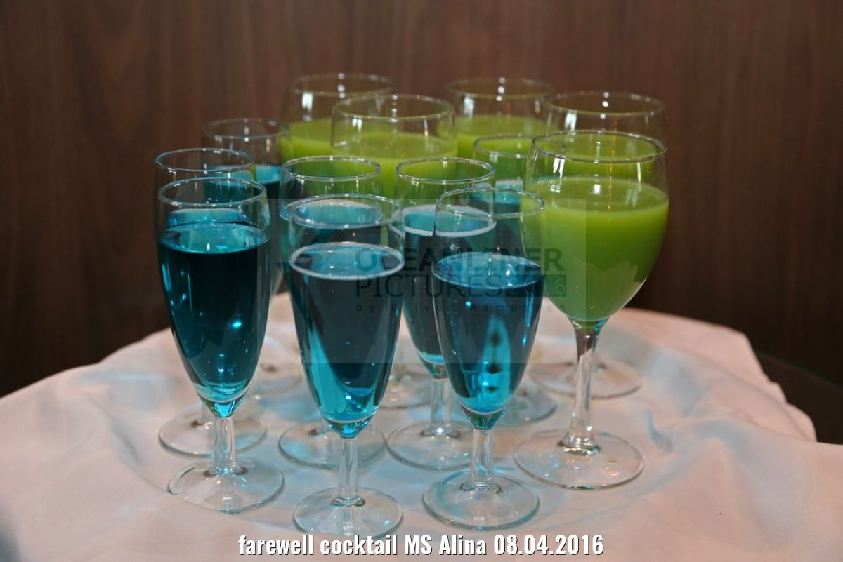 farewell cocktail MS Alina 08.04.2016