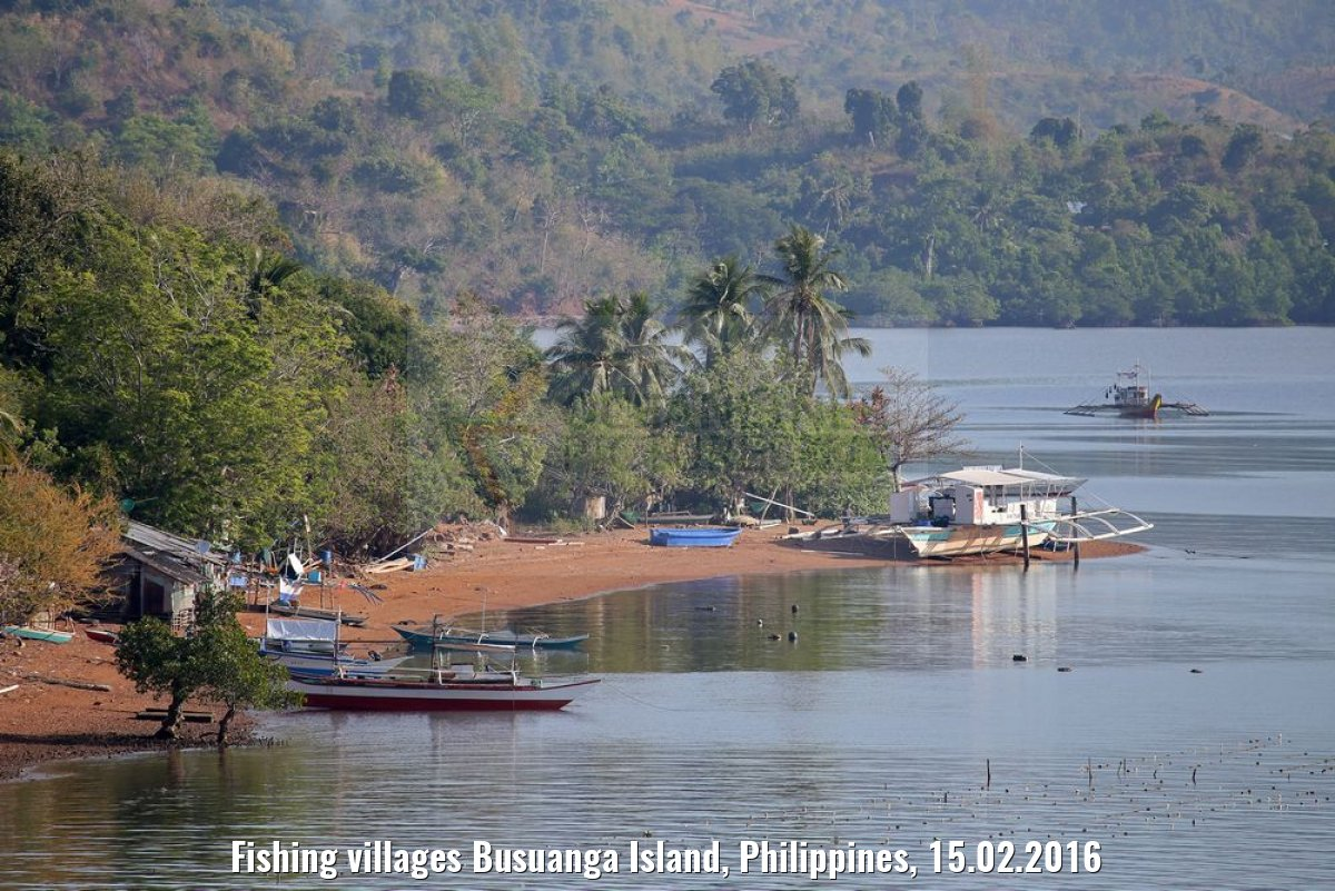 Fishing villages Busuanga Island, Philippines, 15.02.2016
