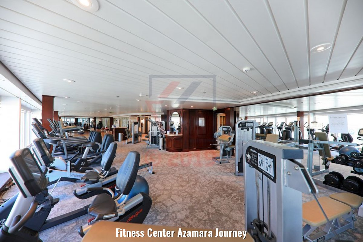 Fitness Center Azamara Journey