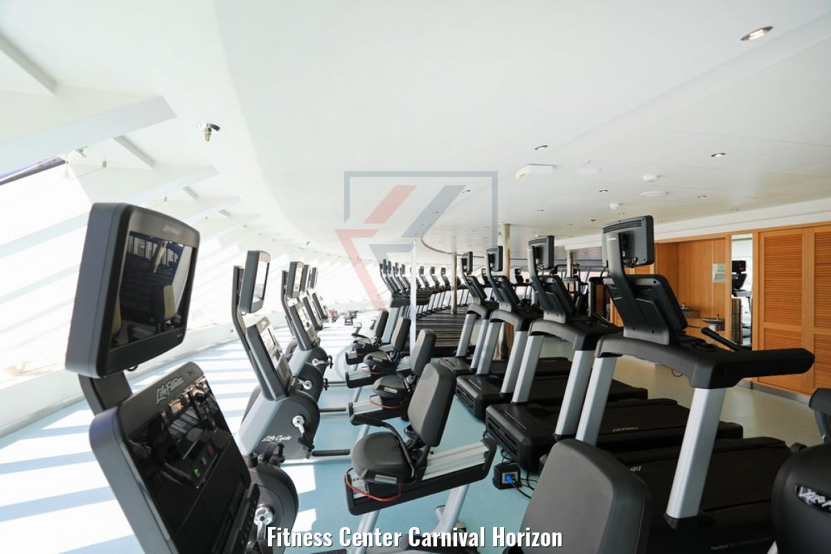Fitness Center Carnival Horizon
