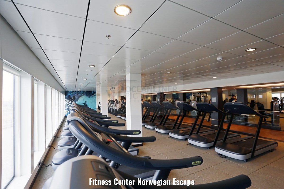 Fitness Center Norwegian Escape
