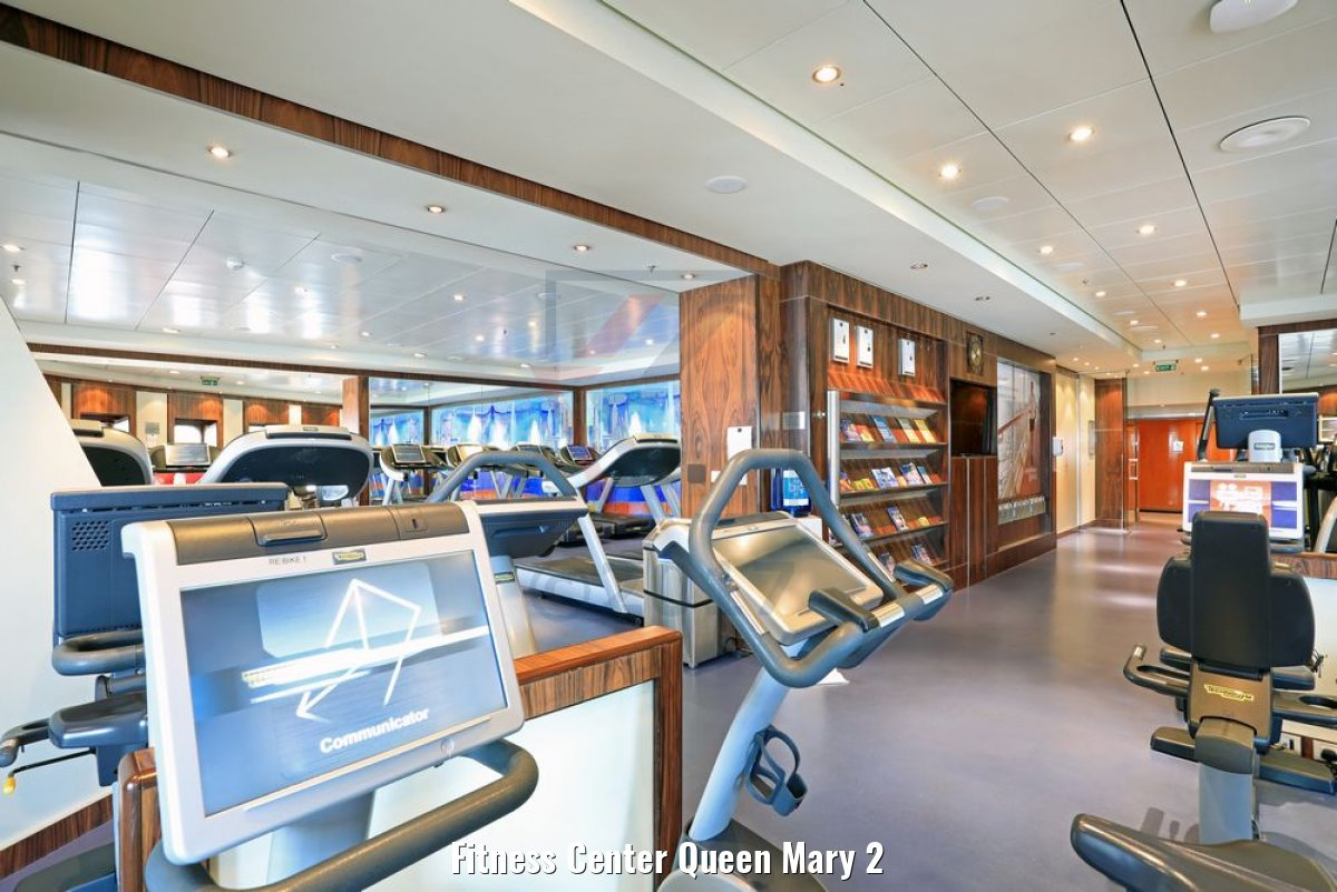 Fitness Center Queen Mary 2