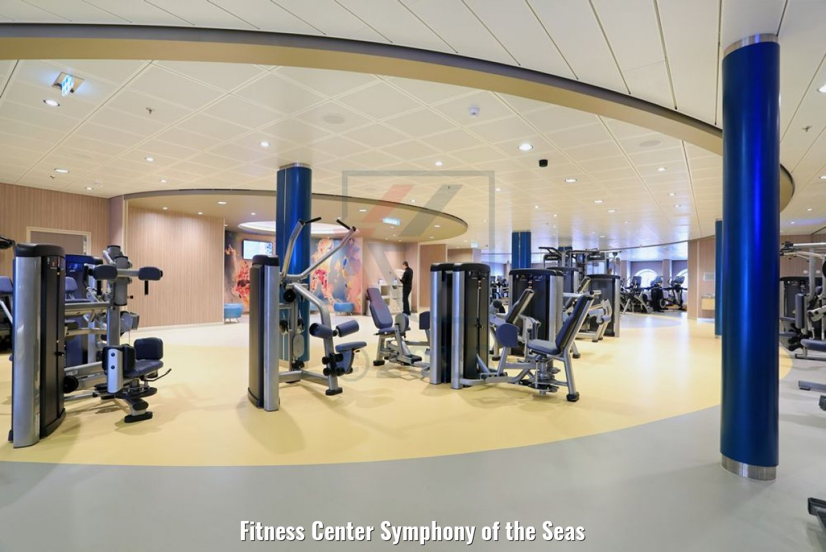 Fitness Center Symphony of the Seas