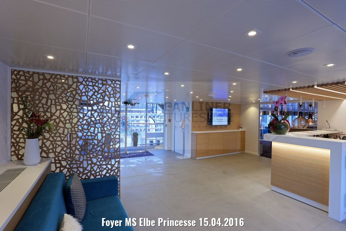 Foyer MS Elbe Princesse 15.04.2016