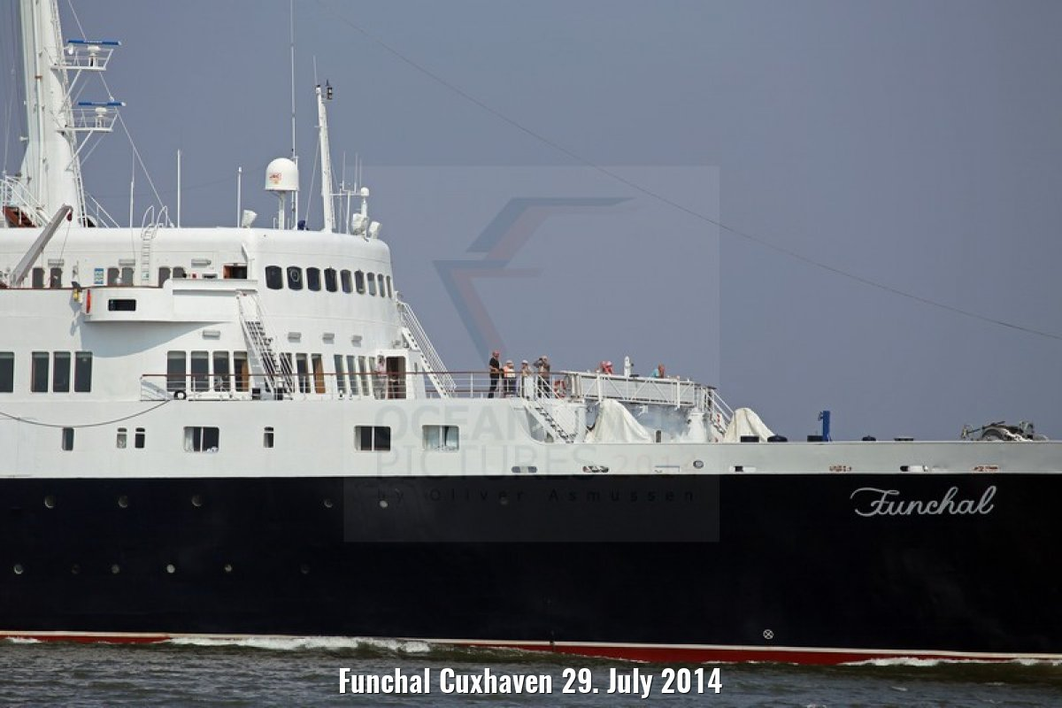 Funchal Cuxhaven 29. July 2014