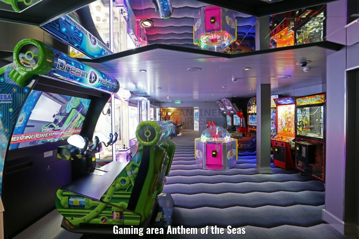 Gaming area Anthem of the Seas