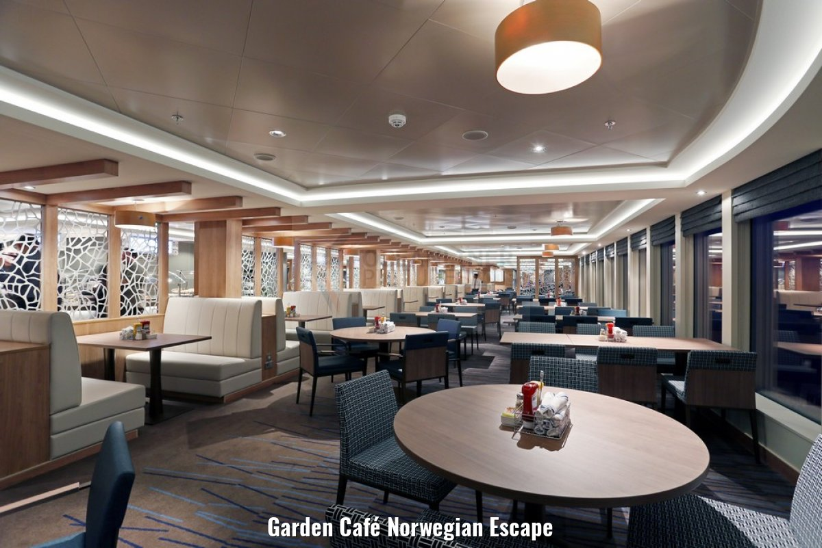 Garden Café Norwegian Escape