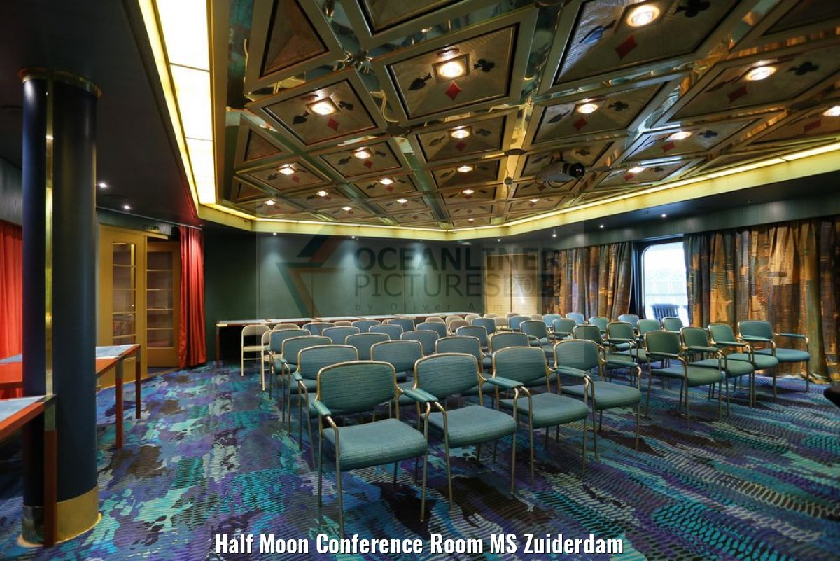 Half Moon Conference Room MS Zuiderdam