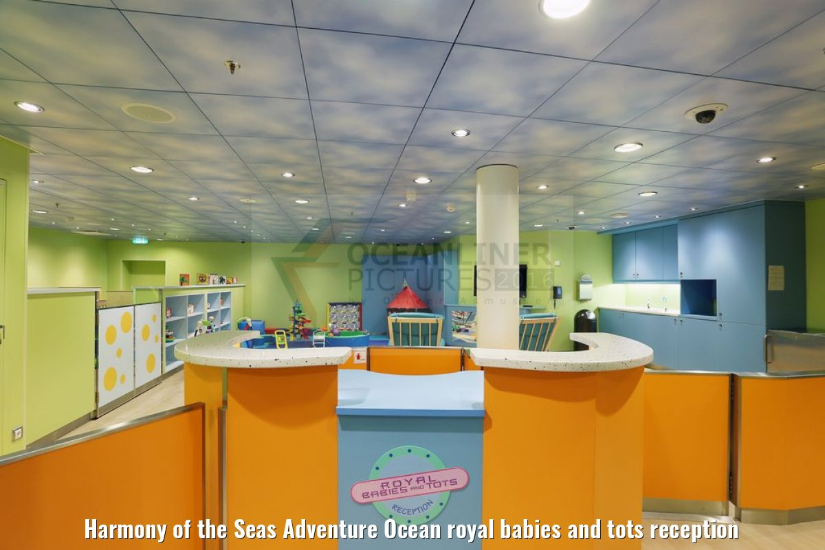 Harmony of the Seas Adventure Ocean royal babies and tots reception