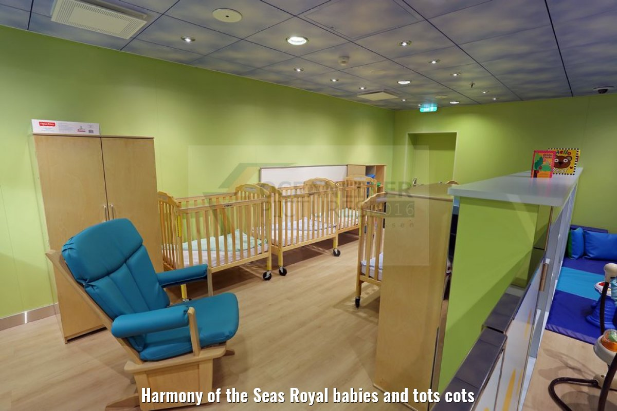 Harmony of the Seas Royal babies and tots cots