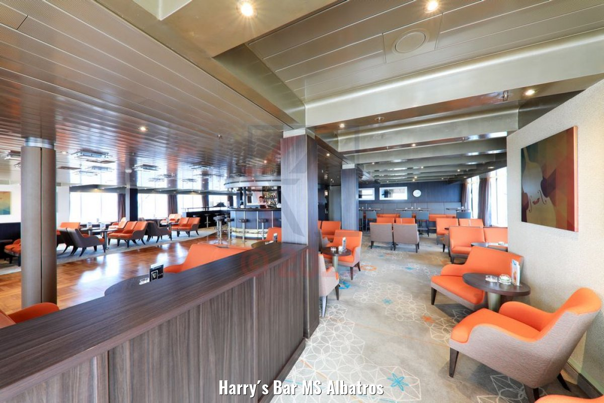 Harry´s Bar MS Albatros