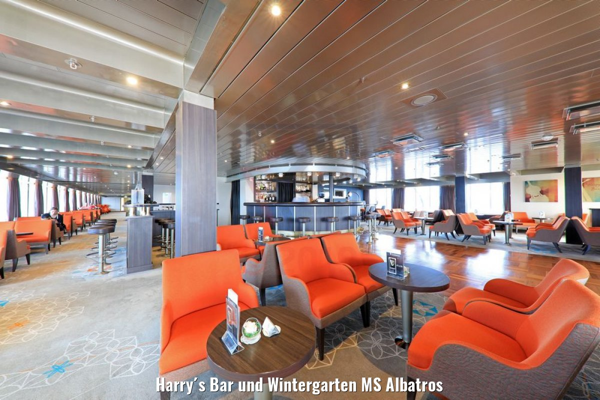Harry´s Bar und Wintergarten MS Albatros