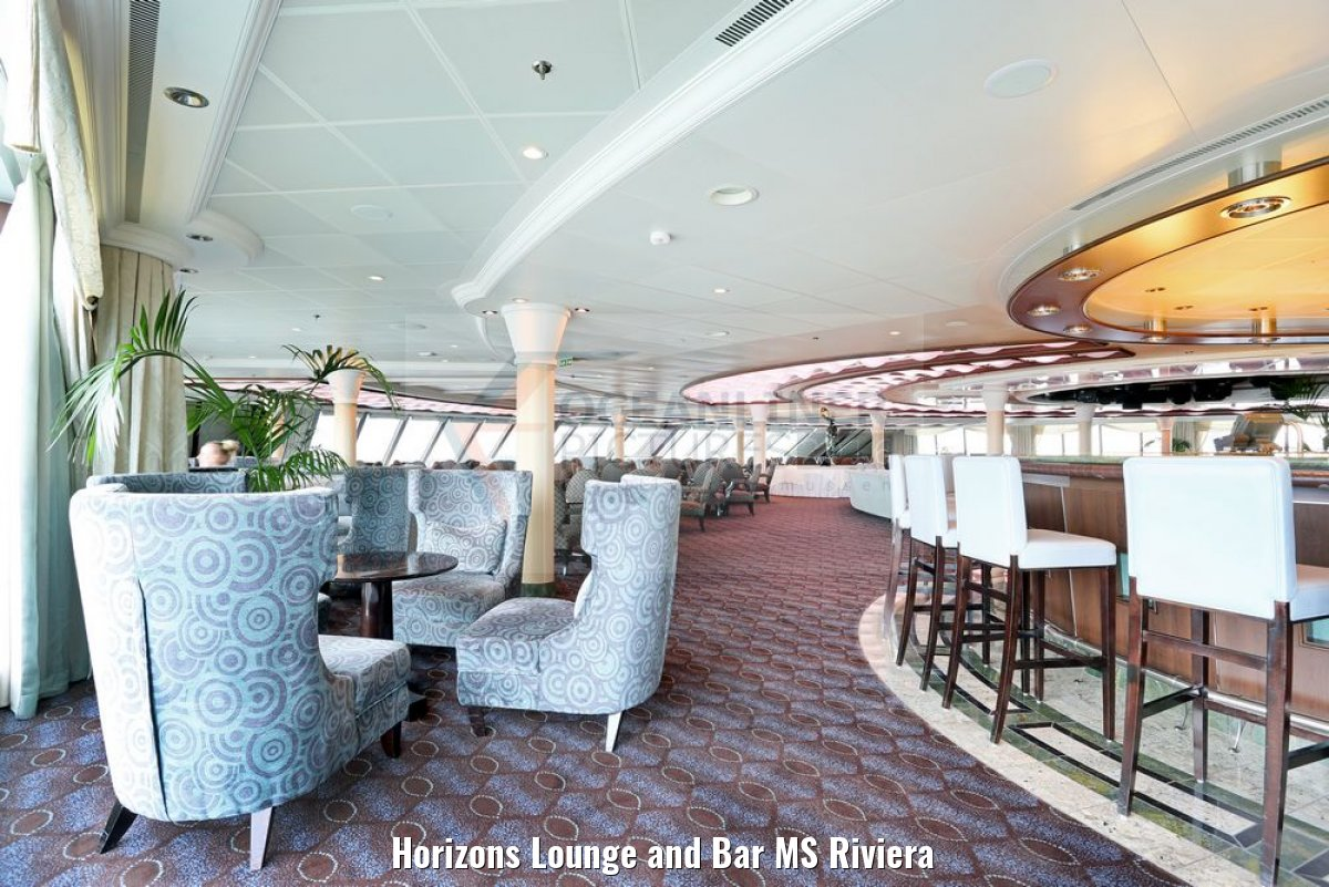 Horizons Lounge and Bar MS Riviera