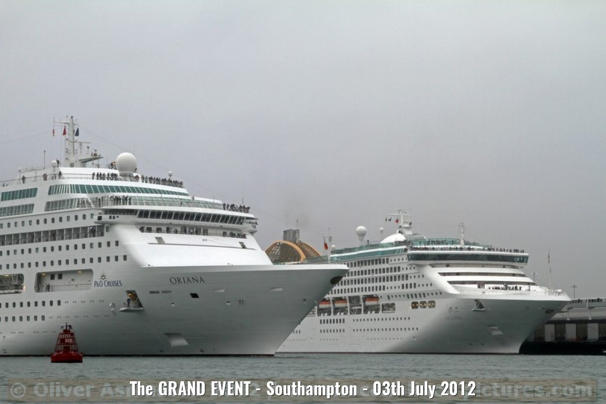 The GRAND EVENT - Southampton - 03th July 2012