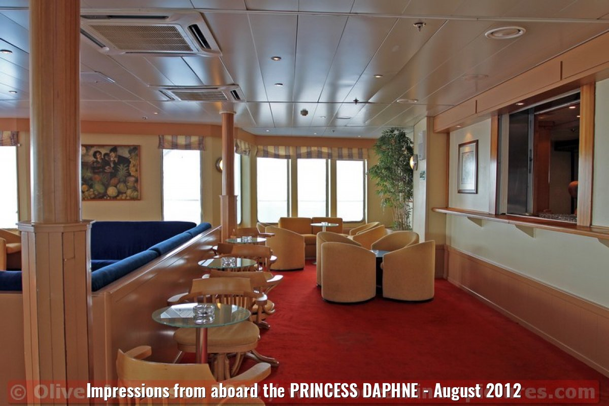 Impressions from aboard the PRINCESS DAPHNE - August 2012