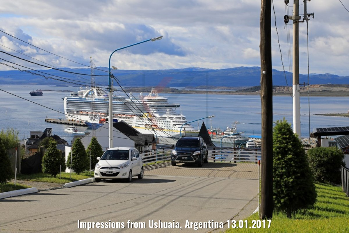 Impressions from Ushuaia, Argentina 13.01.2017