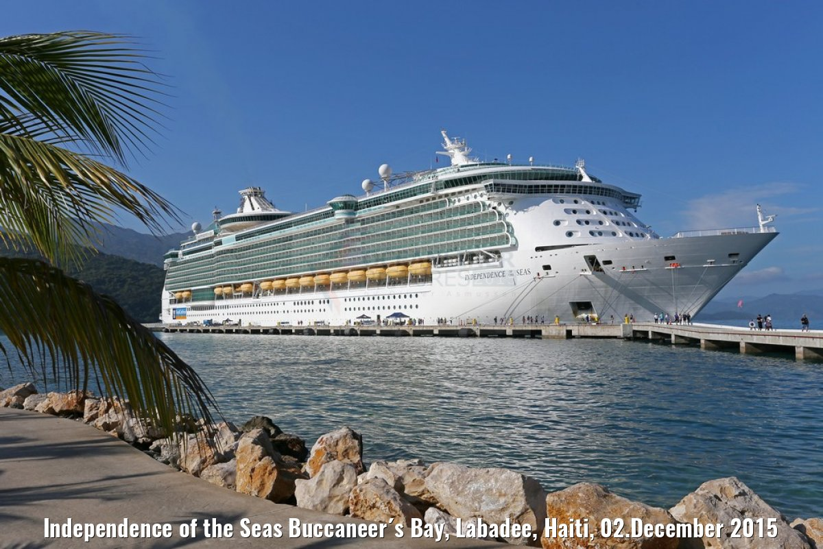 Independence of the Seas Buccaneer´s Bay, Labadee, Haiti, 02.December 2015