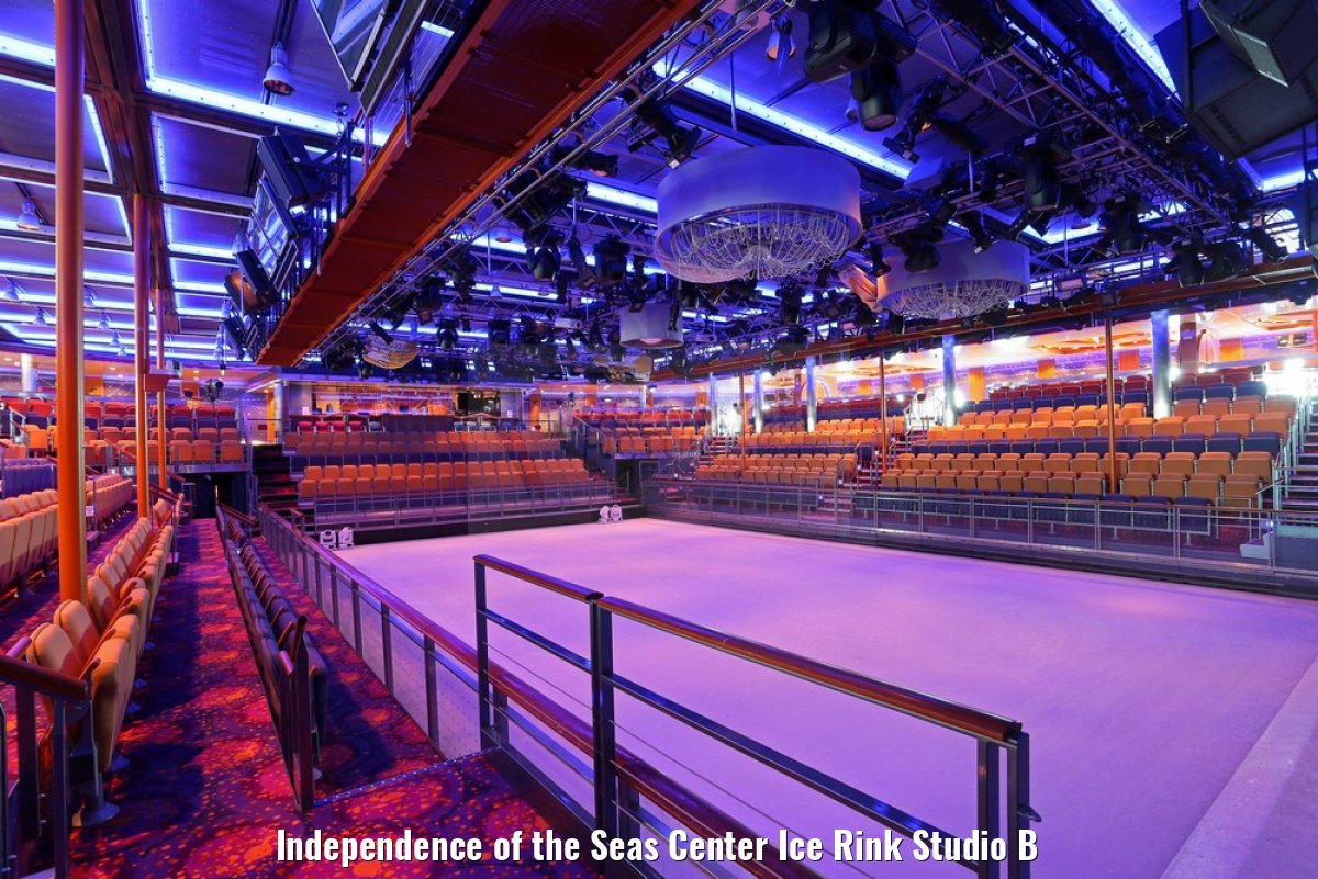 Independence of the Seas Center Ice Rink Studio B