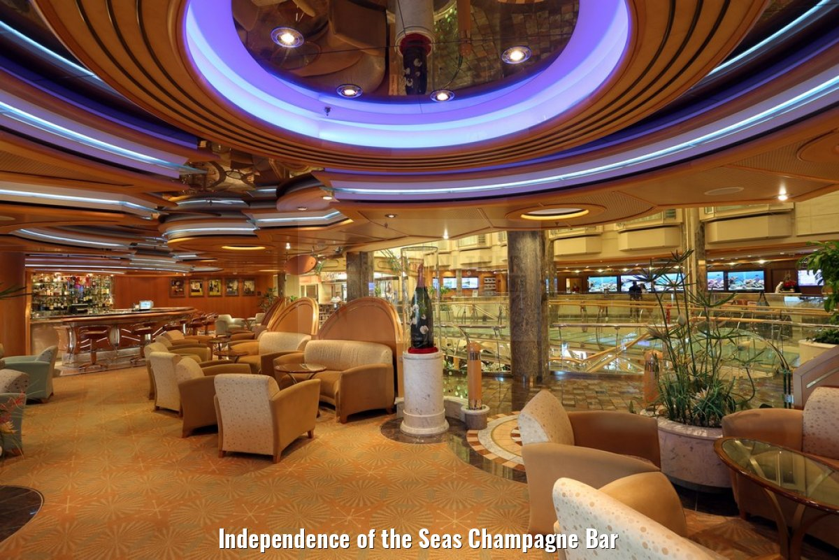 Independence of the Seas Champagne Bar