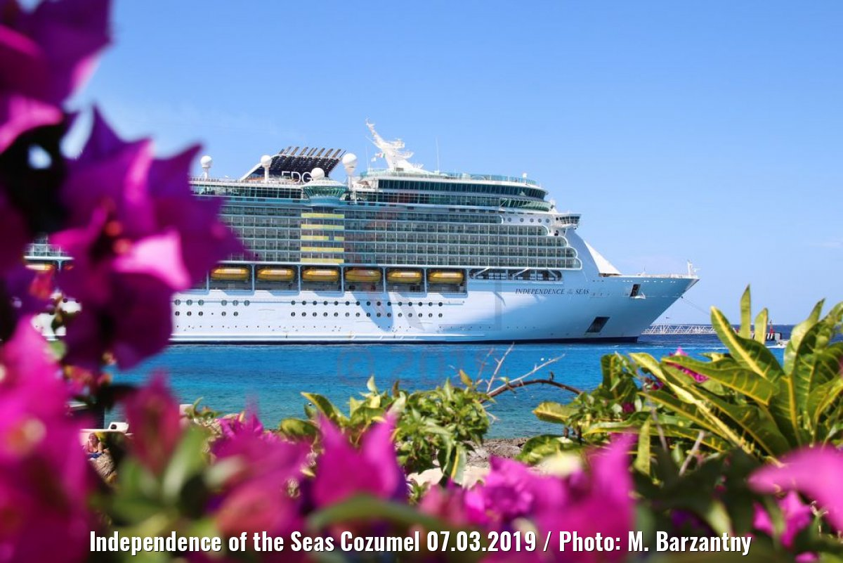 Independence of the Seas Cozumel 07.03.2019 / Photo: M. Barzantny