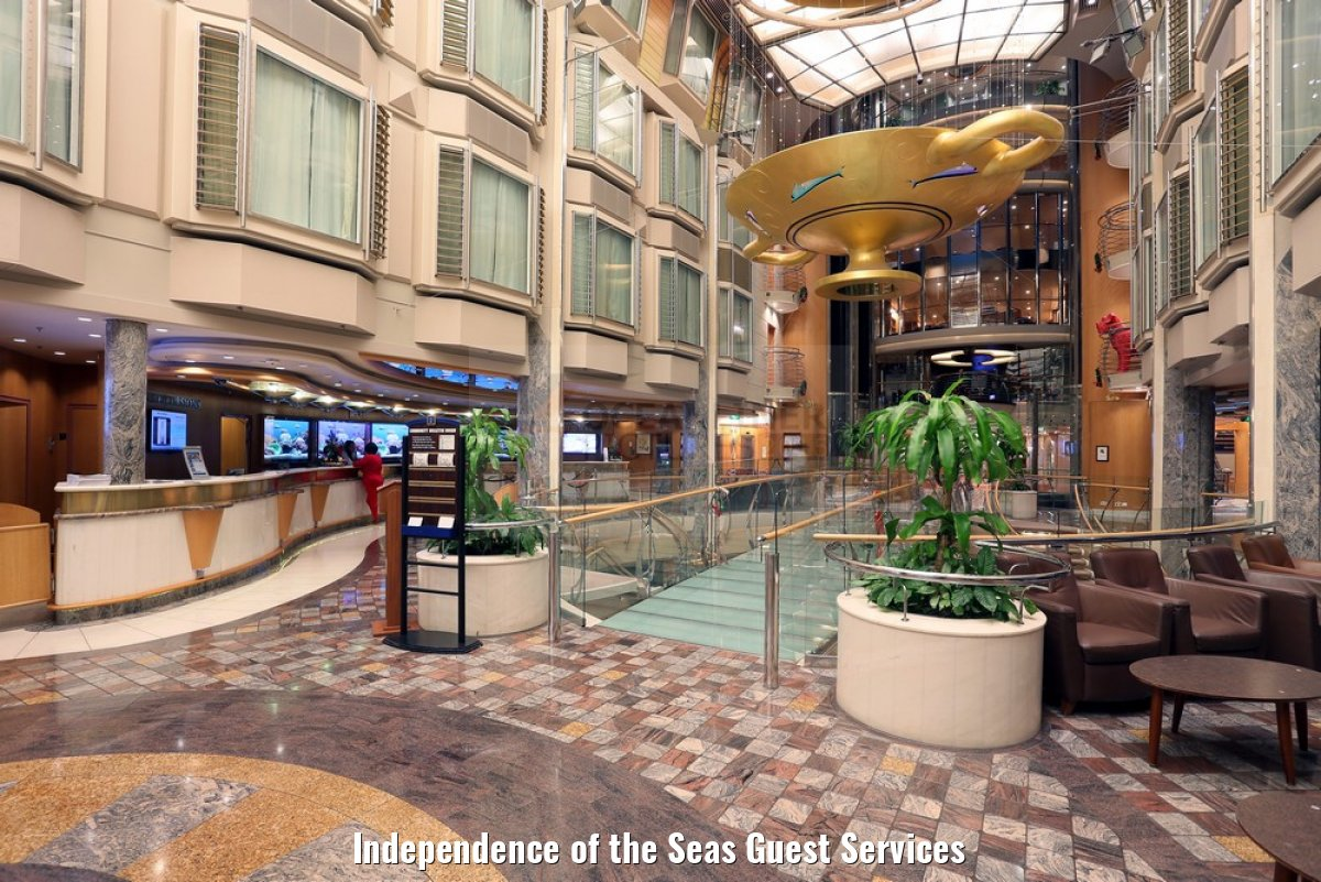 Independence of the Seas Guest Services