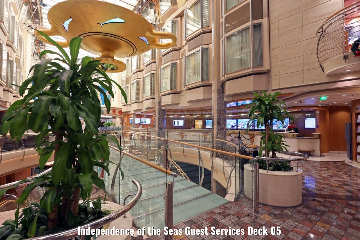 Independence of the Seas Guest Services Deck 05