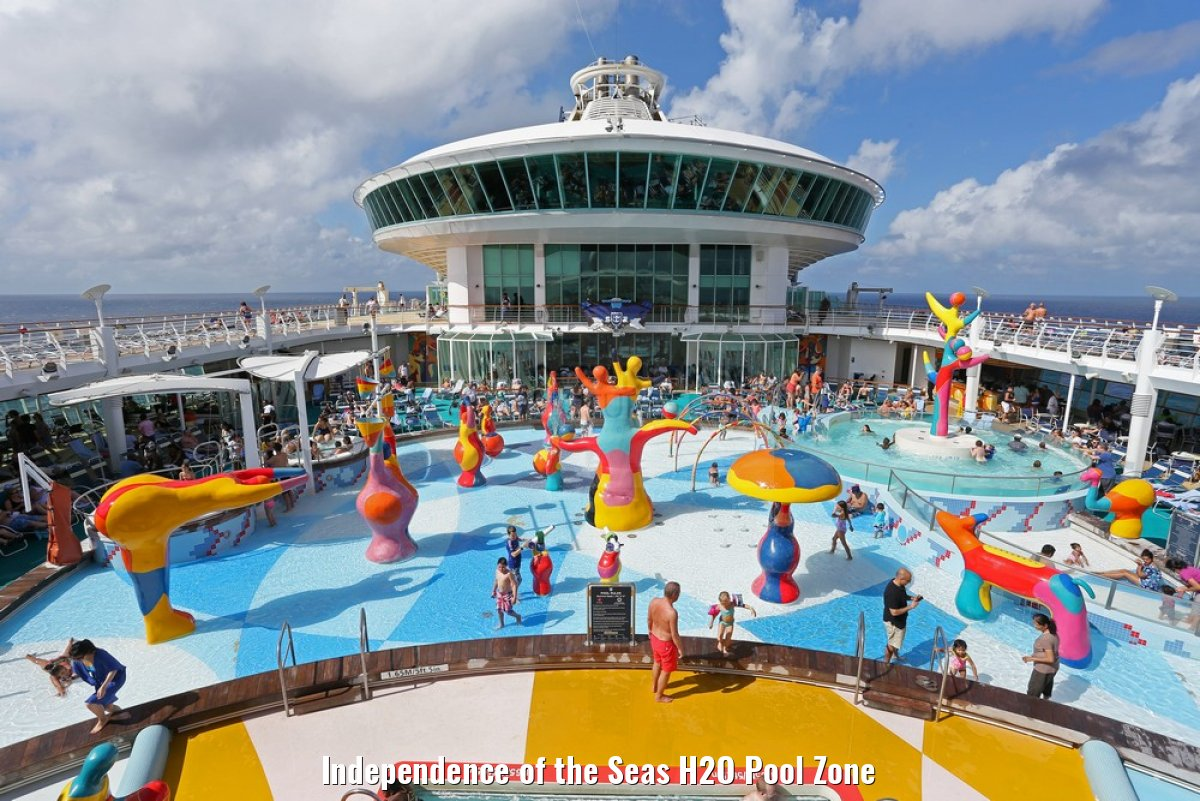 Independence of the Seas H2O Pool Zone