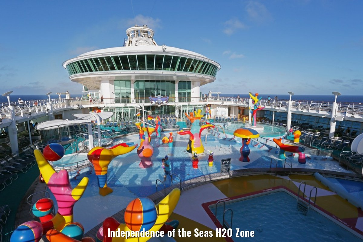 Independence of the Seas H2O Zone
