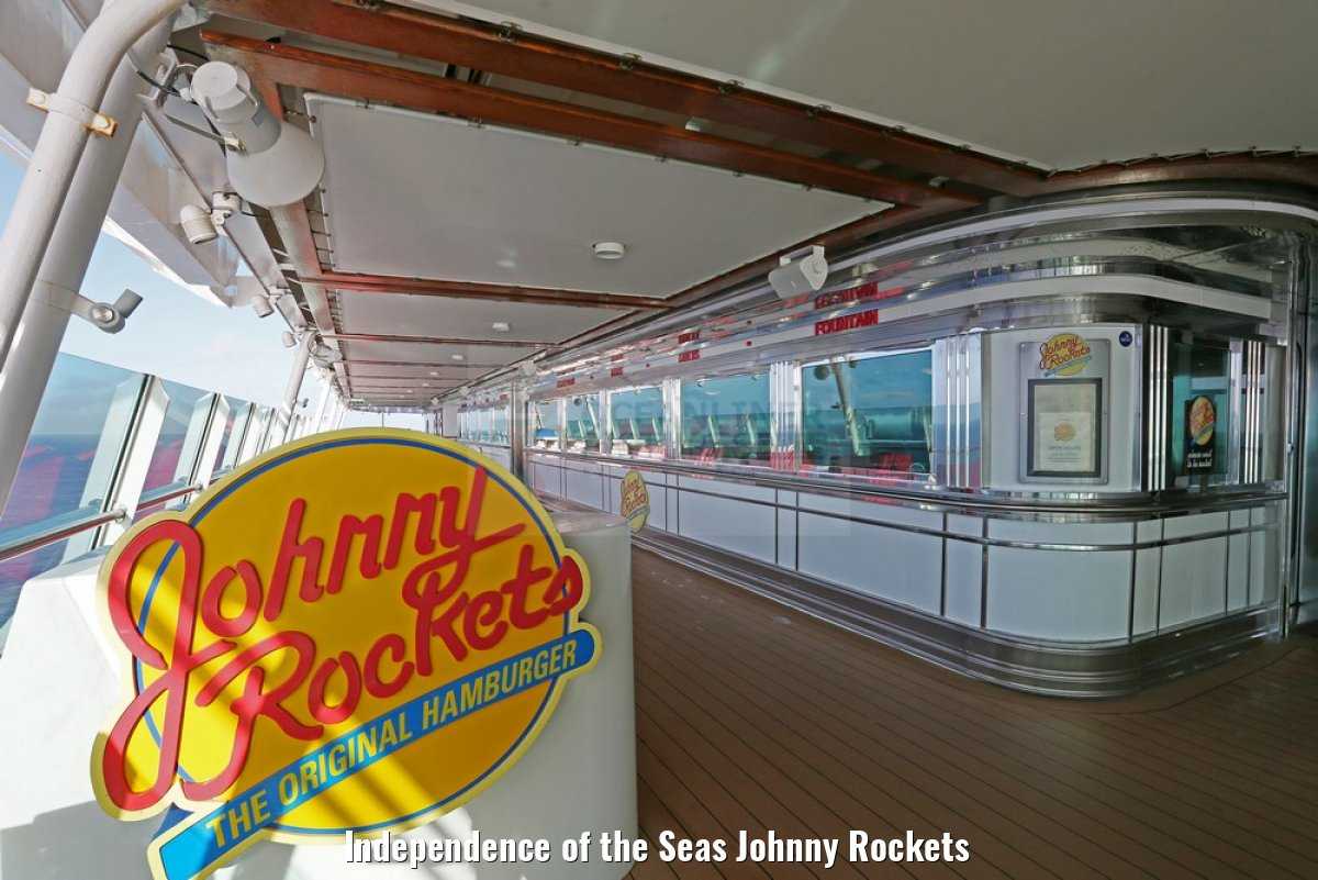 Independence of the Seas Johnny Rockets