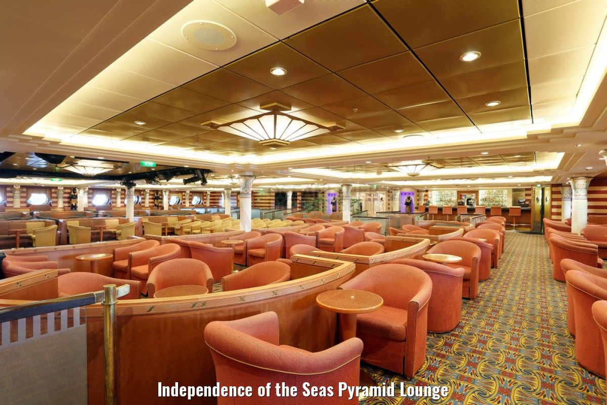 Independence of the Seas Pyramid Lounge