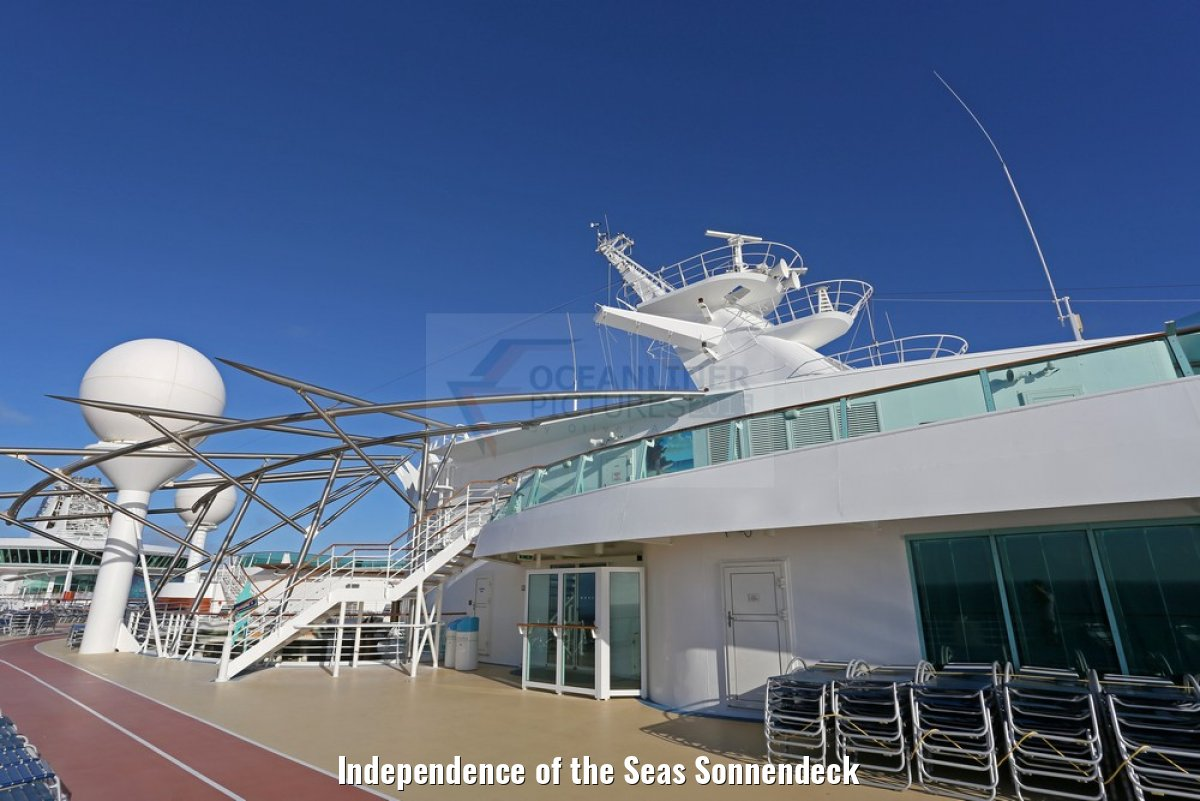 Independence of the Seas Sonnendeck