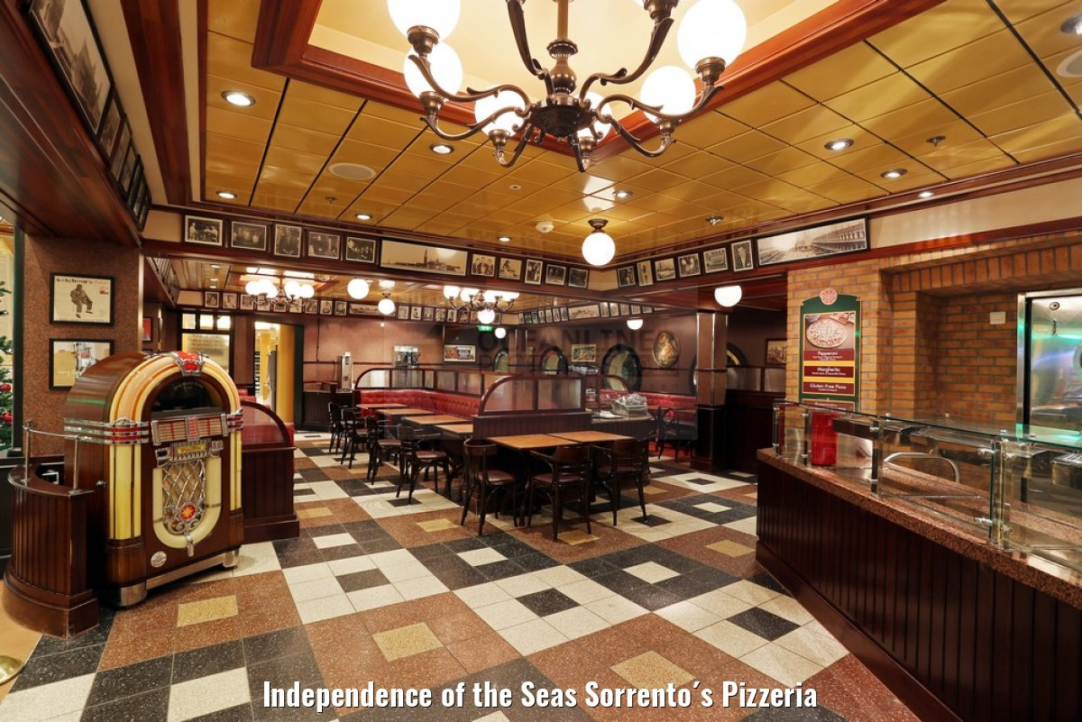 Independence of the Seas Sorrento´s Pizzeria