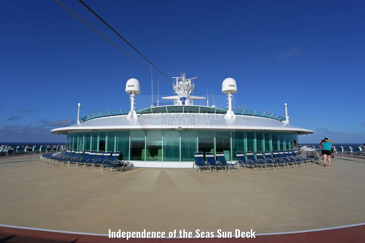 Independence of the Seas Sun Deck