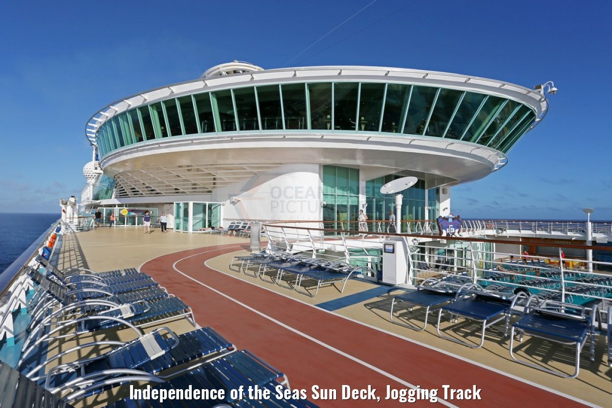 Independence of the Seas Sun Deck, Jogging Track