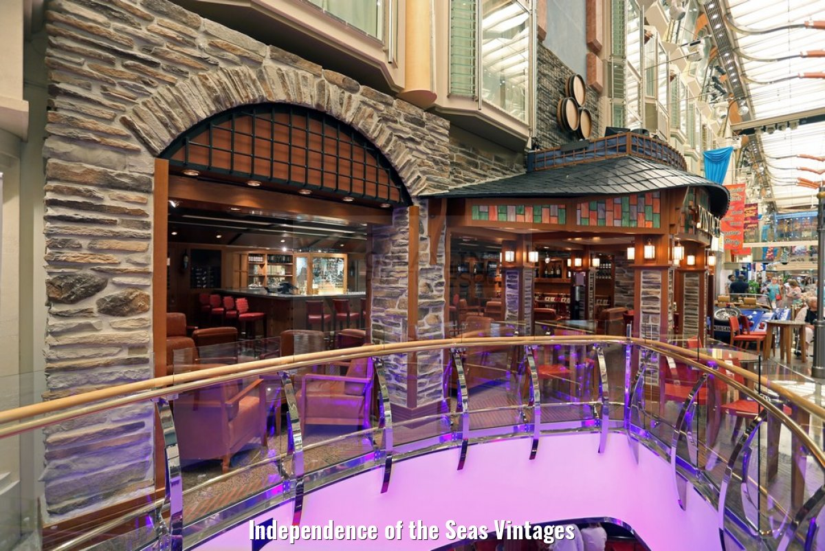 Independence of the Seas Vintages