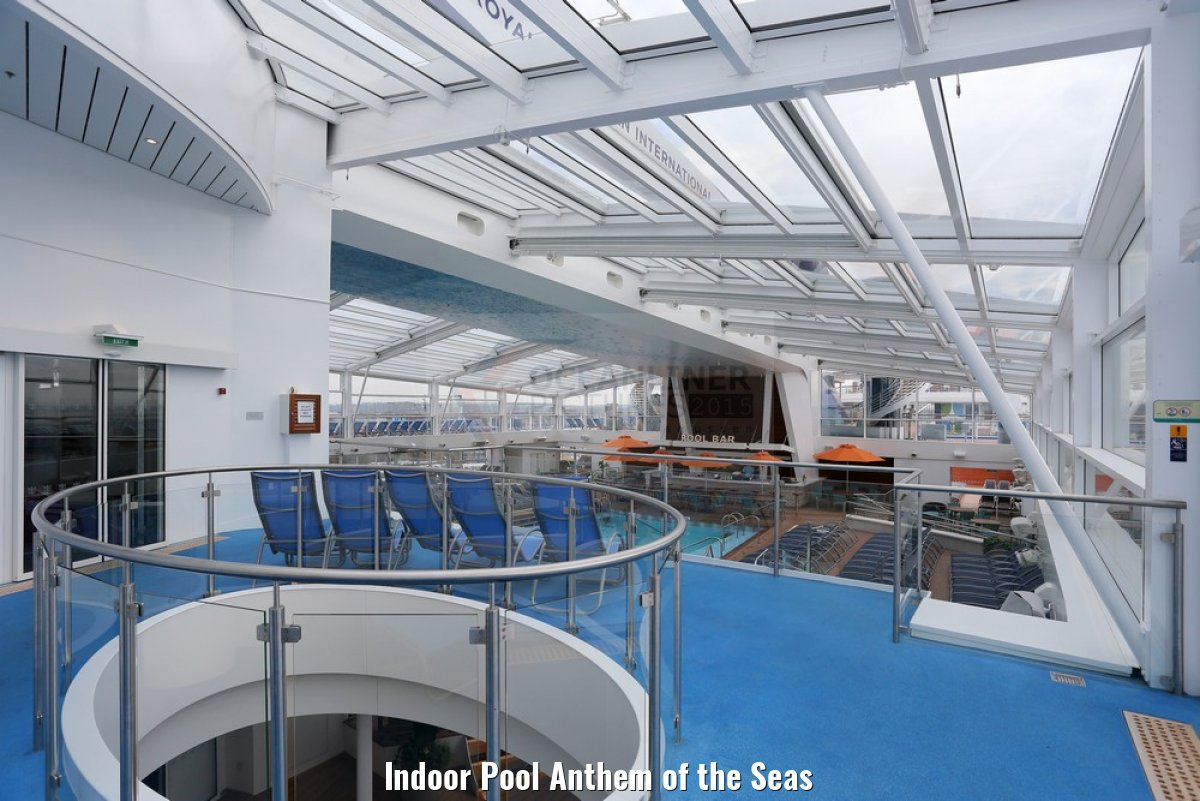 Indoor Pool Anthem of the Seas