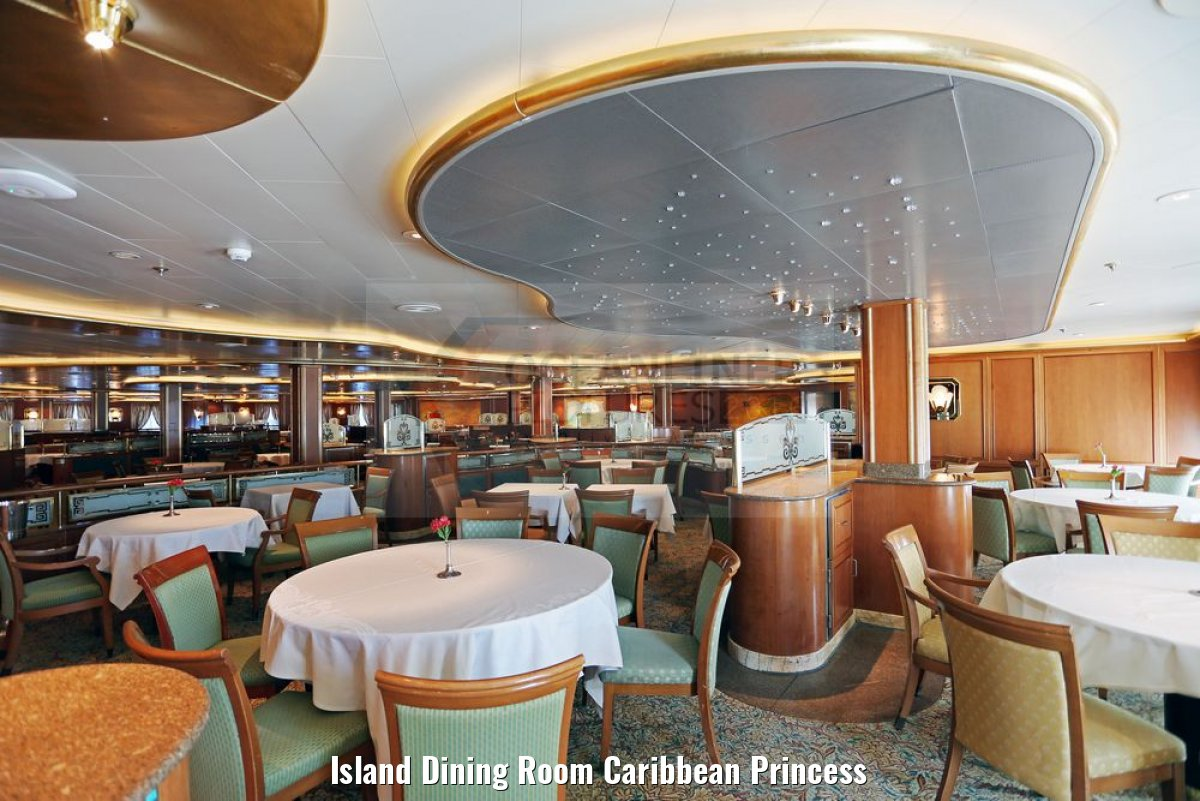 Island Dining Room Caribbean Princess
