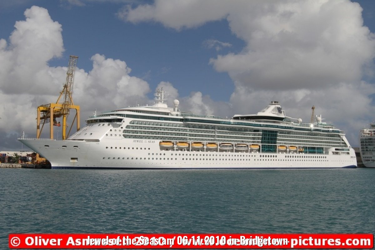 Jewel of the Seas am 06.11.2010 in Bridgetown