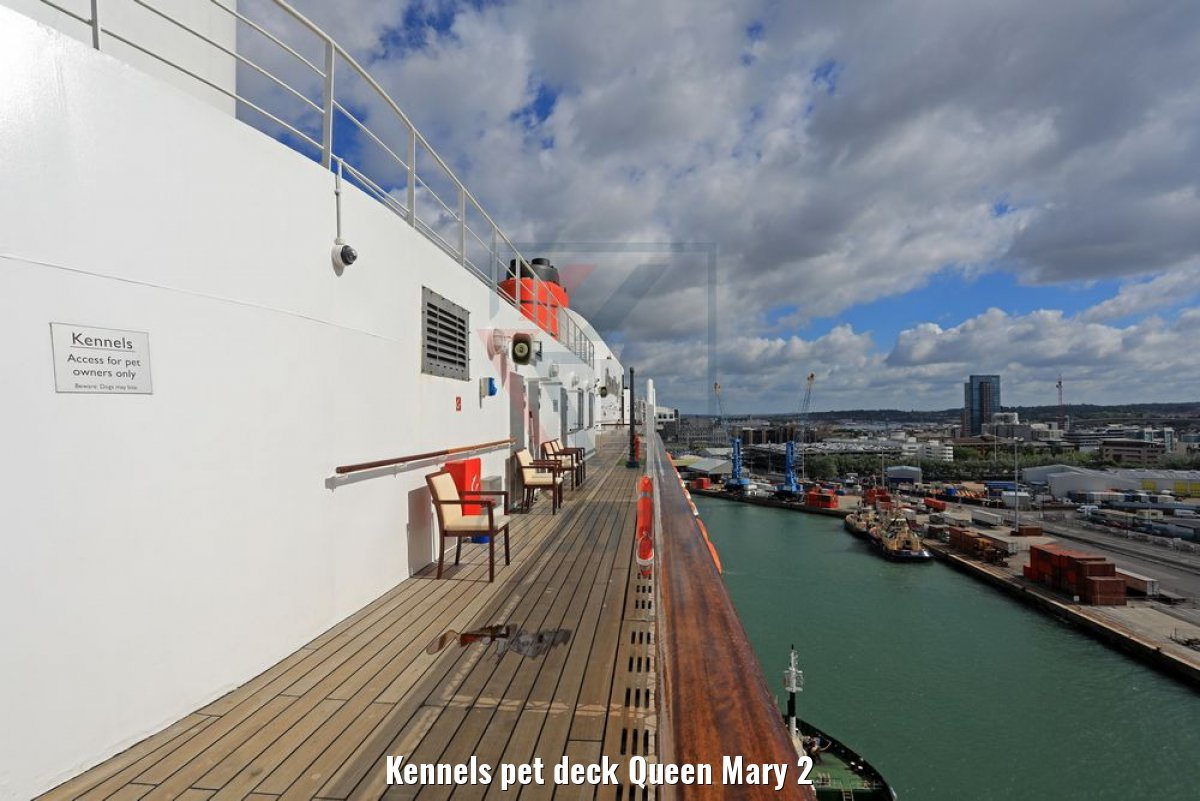 Kennels pet deck Queen Mary 2