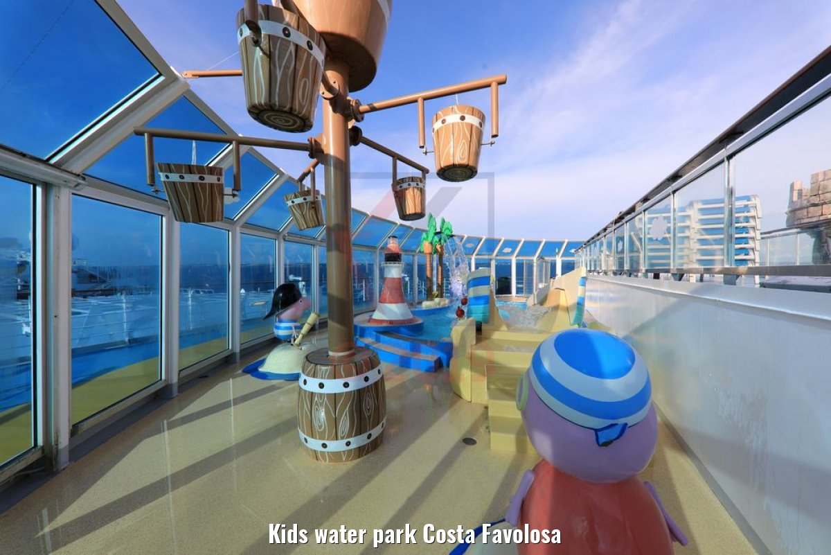 Kids water park Costa Favolosa