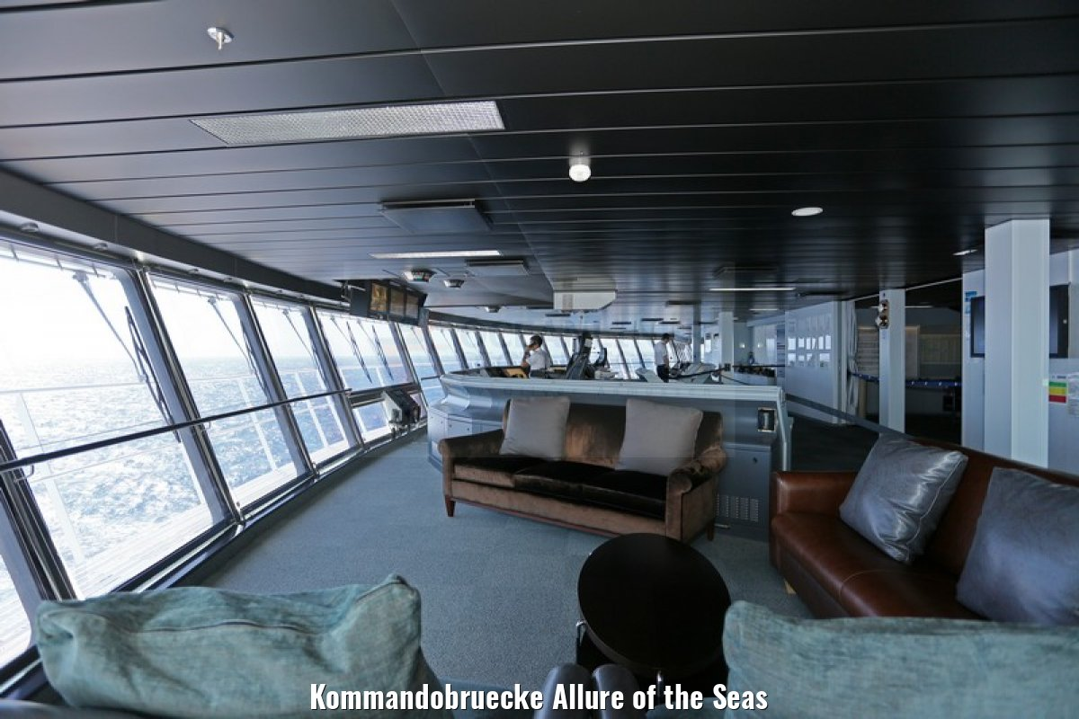 Kommandobruecke Allure of the Seas