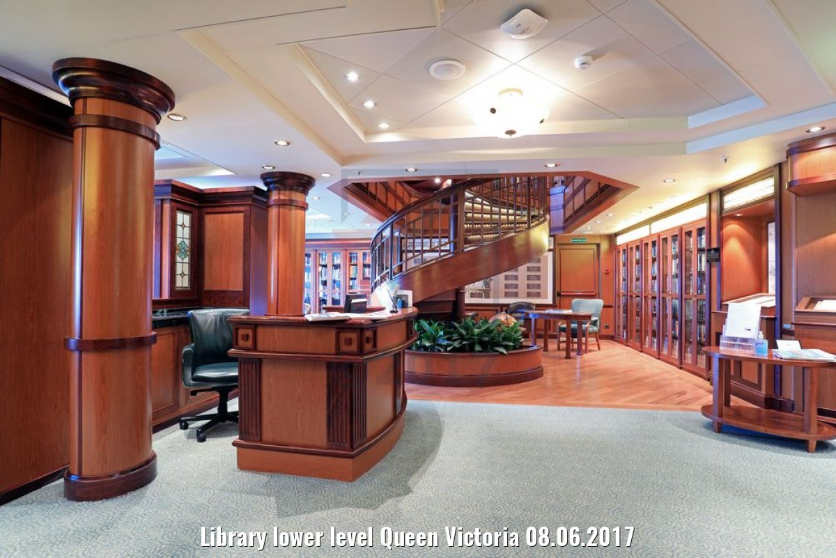 Library lower level Queen Victoria 08.06.2017
