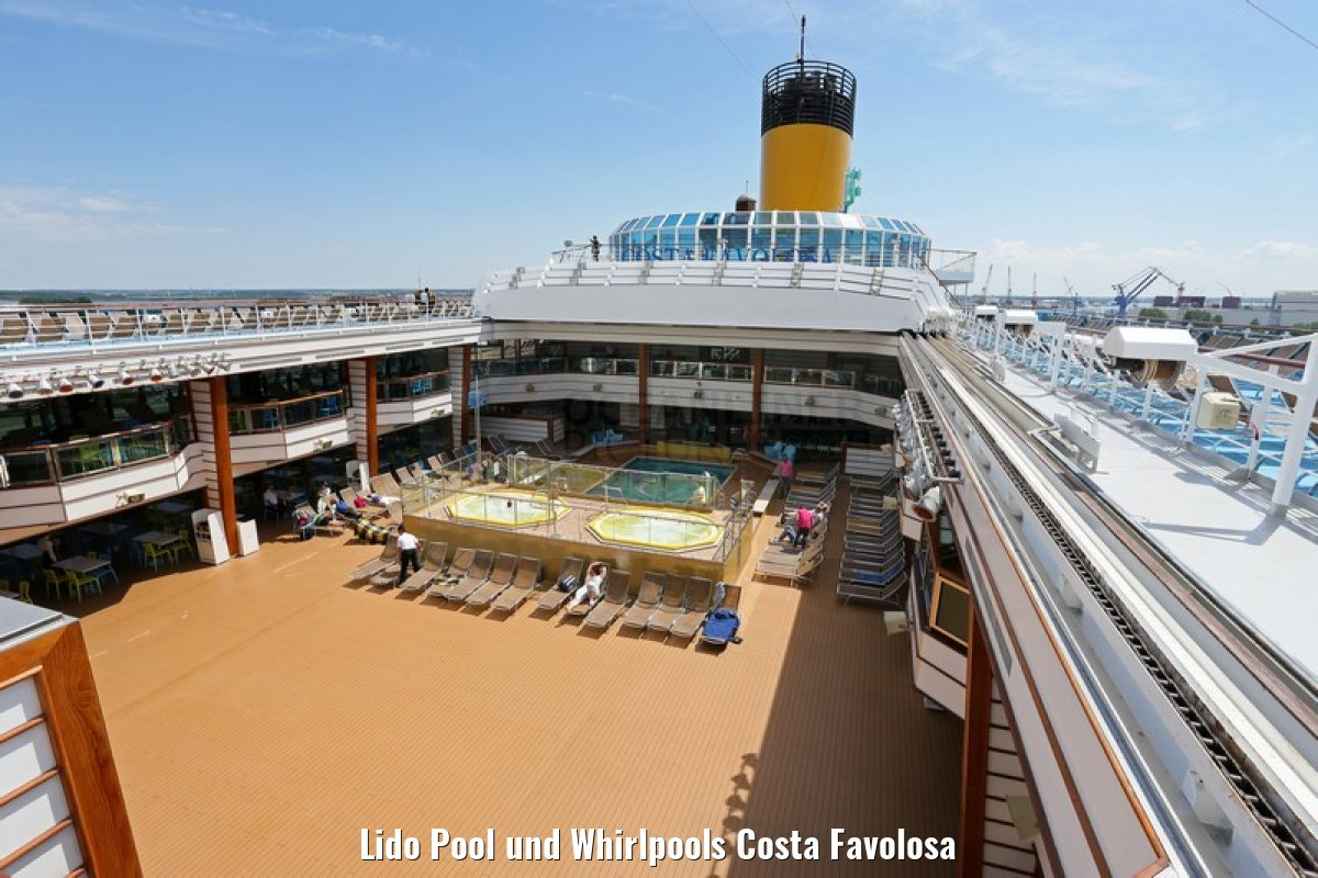 Lido Pool und Whirlpools Costa Favolosa