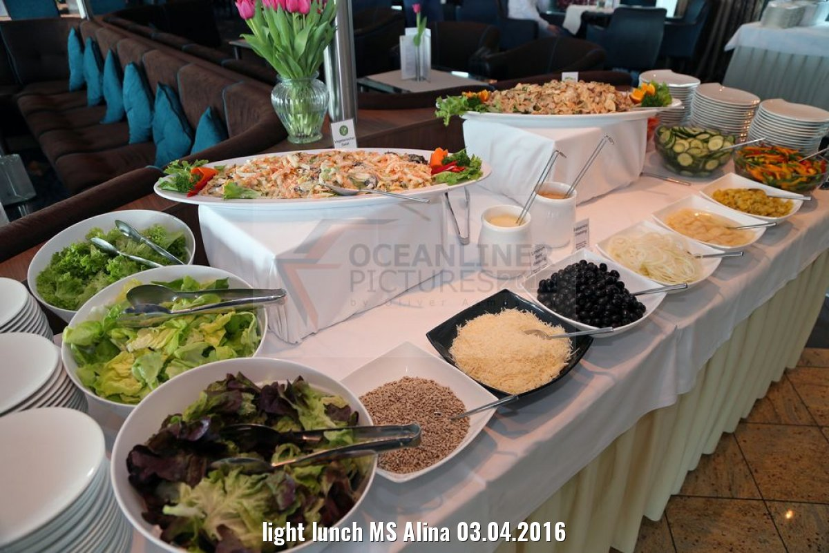 light lunch MS Alina 03.04.2016