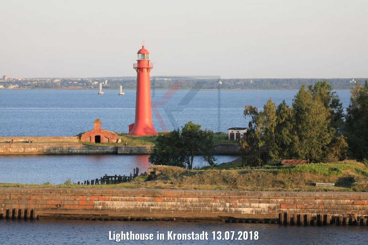 Lighthouse in Kronstadt 13.07.2018
