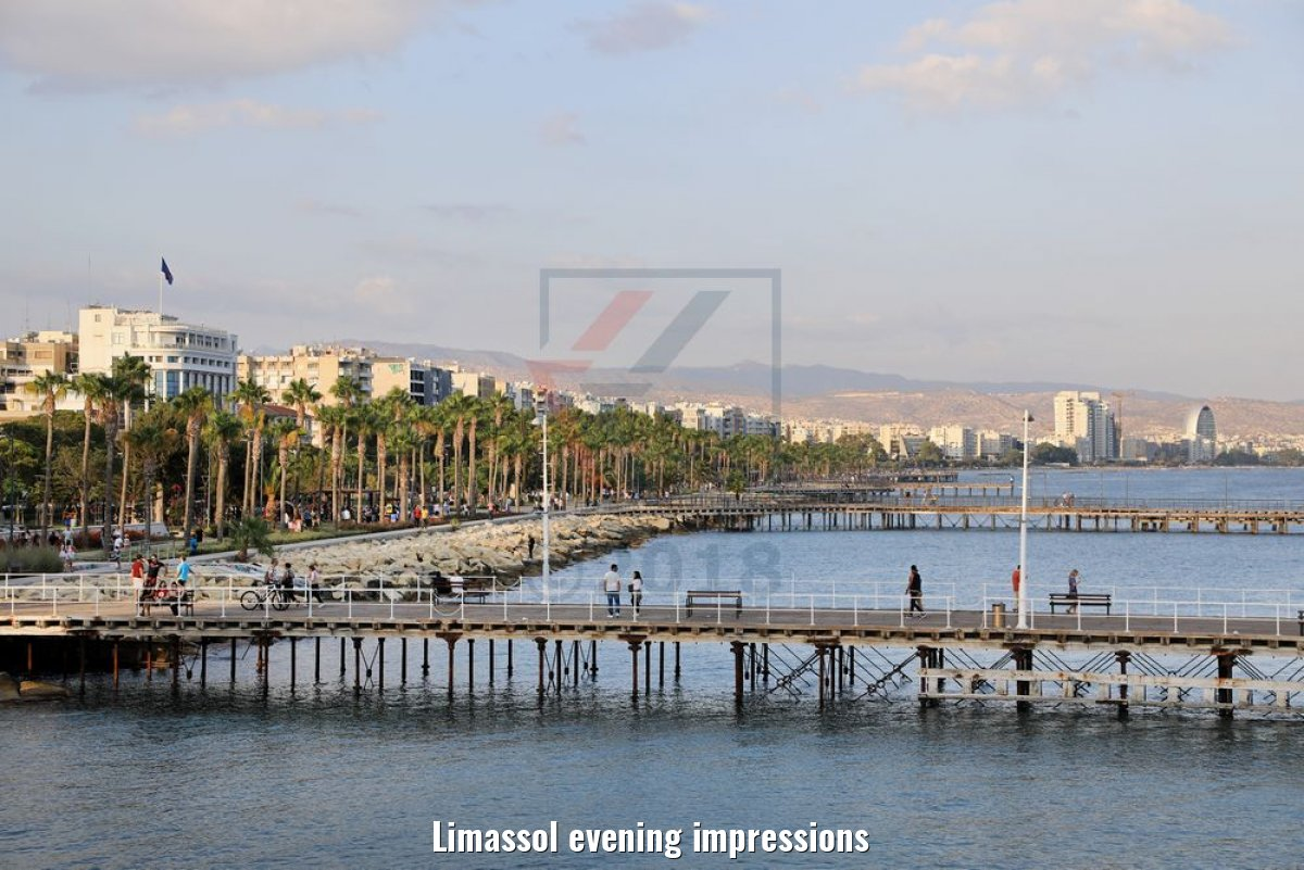 Limassol evening impressions